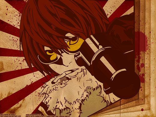 wallpaper death note. Wallpapers Death Note Karaz
