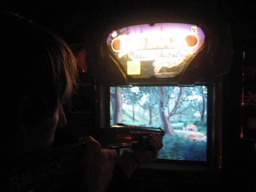 danny plays big buck hunter