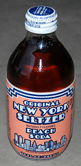 Original New York Seltzer Peach Soda, 1987
