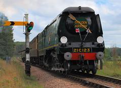 Golden Arrow (Matt_Daniels) Tags: sussex trains steamtrain goldenarrow bluebellrailway preservedrailway blackmoorvale d40x 21c123