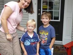 LeAnne and her sons (redvette) Tags: corvette rivervalleyvettes redvette tomhiltz