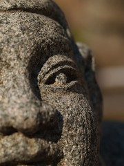 The Buddha Eye (Daniel Shen) Tags: portrait macro architecture temple 50mm buddha religion taiwan olympus zuiko 2009    zd  aplusphoto  panoramafotogrfico