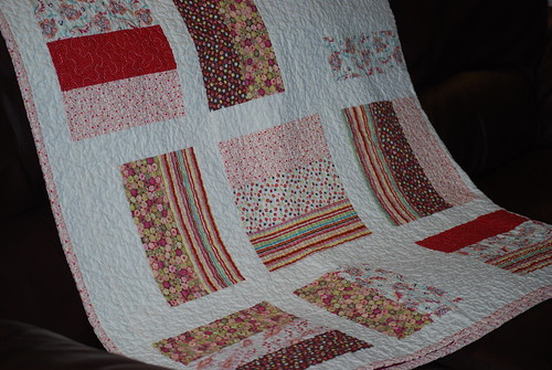 Lap quilt by you.