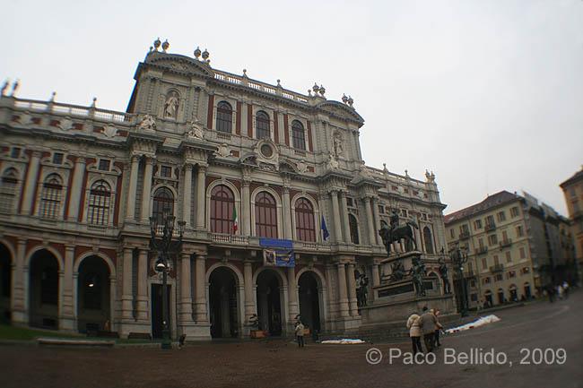 Palazzo Carignano. © Paco Bellido, 2009