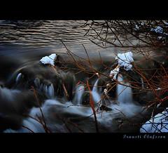Wood & Water (Trausti Ólafsson) Tags: snow nature water iceland bravo frost húsavík nikond80 nikon18135mm magicdonkeysbest lesamisdupetitprince traustiólafsson imagesforthelittleprince artisticandhighqualityshots artfortheart