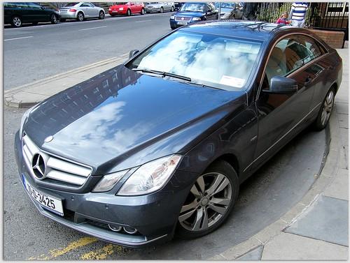 New Benz E250 CDI coupe