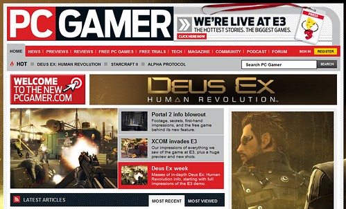 pcgamer frontpage