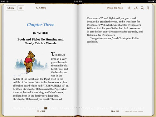 iBooks 1.1 Typography