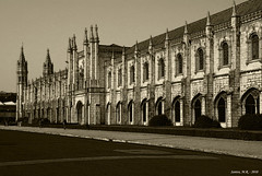 Monasterio de los Jerónimos, Belem - Lisboa (Santos M. R.) Tags: arquitectura nikon martin lisboa belem santos nikkor monasterio jerónimos 18135 d80 fractalius santosmr