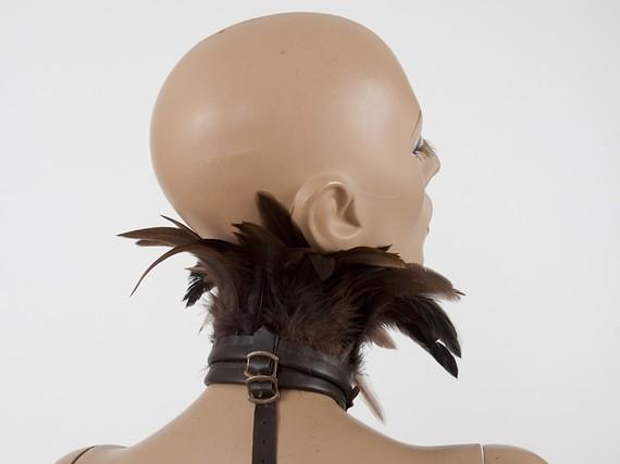 ETSY feather shoulder harness by MetamorphDK 9