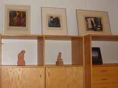 Bilder ausleihen in Artothek