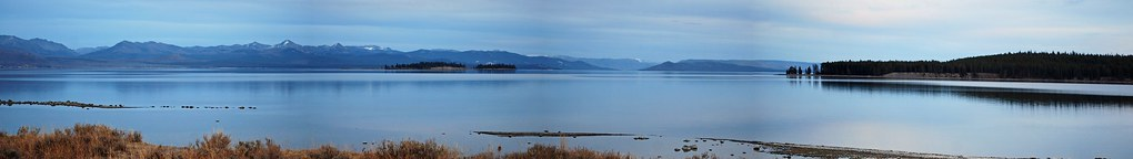 Yellowstone Lake Panorama