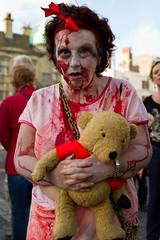 Brighton Zombie Walk 2010 - Teddy (smileham) Tags: bear halloween walking dead brighton teddy zombie walk horror undead zombies
