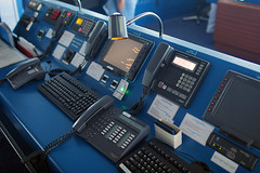 Communications Console (dbcnwa) Tags: bridge cruise barco ship cruising cockpit vessel norwegian cruiseship helm jewel crucero ncl norwegiancruise shipsbridge norwegianjewel norwegiancruiseline ncljewel mvnorwegianjewel jewelclassship jewelbridge