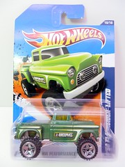 hws kmart '56 flashsider lifted (2) (jadafiend) Tags: scale kids toys model police hotwheels chp 164 collectables collectors adults elsegundo 2010 treasurehunt diecast trw firstedition mysterycar quakerstate sandblaster 2011 boneshaker sweetrides ferrarif430spider newmodel trackstars classicnomad 8crate hummerh2sut ferrari308gts vairy8 56merc camaroconvertibleconcept nissanskyliner32 dairydelivery fracer lamborghinireventon 58impala waynesgarage corvettegrandsport larrysgarage ferrari458italia schoolbusted philsgarage lamborghinilp5704superleggera custom66gtowagon 62fordmustangconcept kmartcollectorsevent 49fordcoe november62010 64gmcpaneltruck 69volkswagenvariant freshcases customvolkswagenbeetle 70chevellesswagon 97chevycorvette 10customcamaroconvertable customizedc3500 fordsgtlm 56flashsiderlifted dodgechallengerdriftcar
