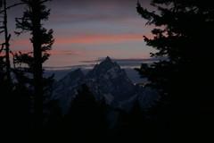 Grand Teton after sunset (fly by night) Tags: sunset mountains grandtetons tetons