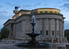 An evening at St Georges Hall (Mr Grimesdale) Tags: fountain architecture liverpool evening 2008 merseyside architechure stgeorgeshall capitalofculture mrgrimsdale stevewallace capitalofculture2008 liverpoolcapitalofculture2008 dsch2 europeancapitalofculture2008 liverpoolcapitalofculture mrgrimesdale grimesdale