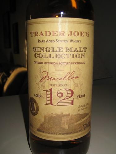 Trader Joes Macallan?