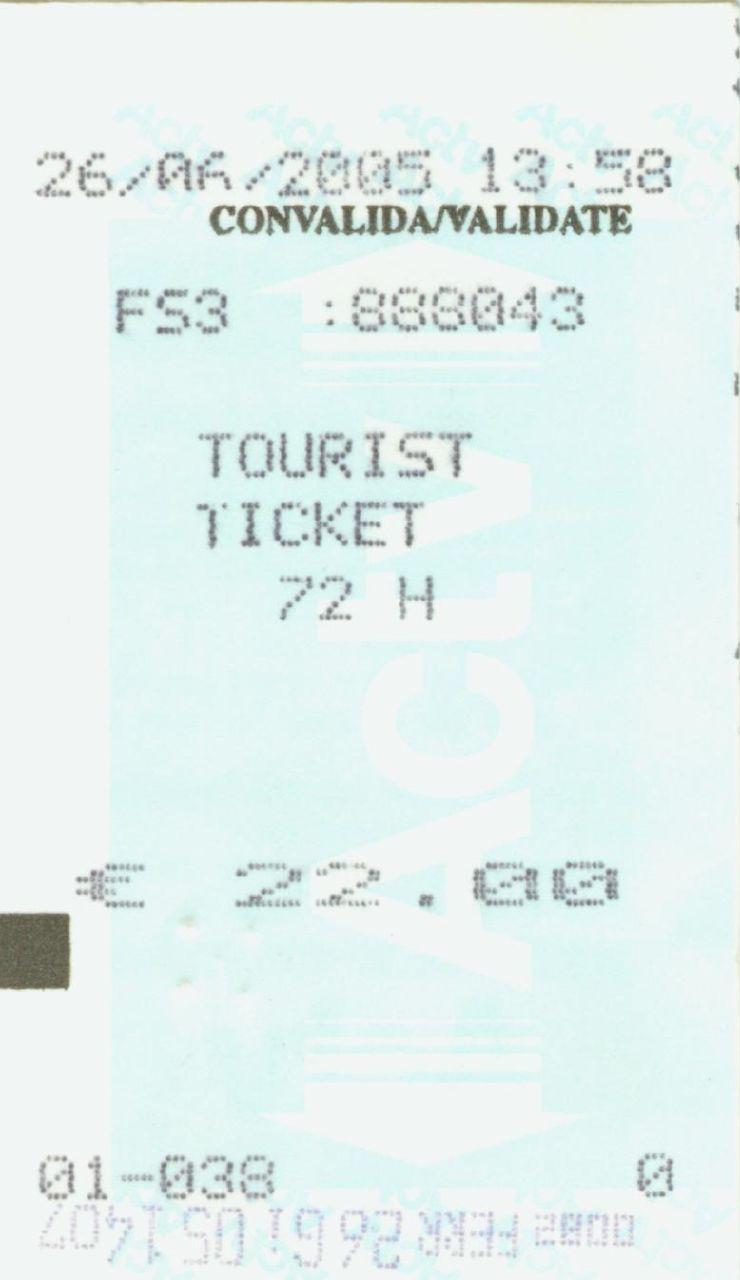 Venezia 72小時通行船票