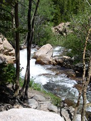 RMNP mountain stream #3, 7-7-04