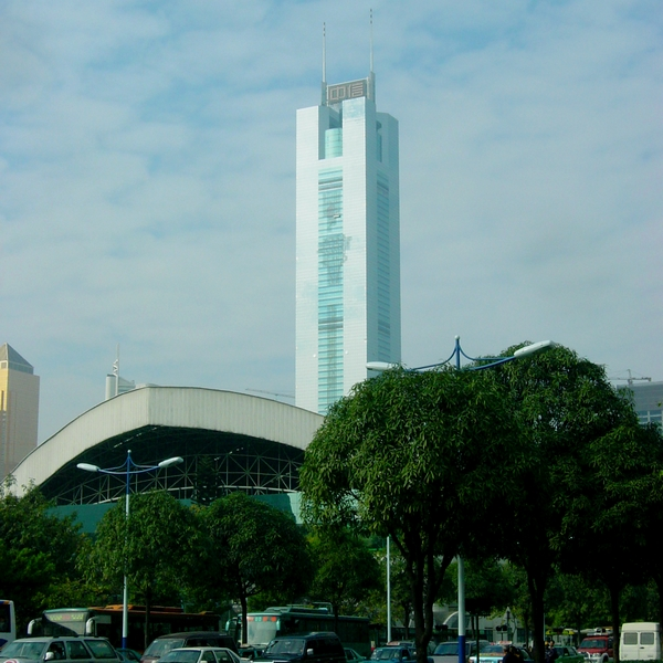 7 - CITIC Plaza in Guangzhou, 391 m