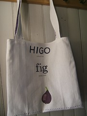 Fig Dishtowel Market Bag II