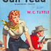 Gun Feud (aka: Wandering Dogies) (Popular Library 354) 1951 AUTHOR: W.C. Tuttle ARTIST: Samuel Cherry