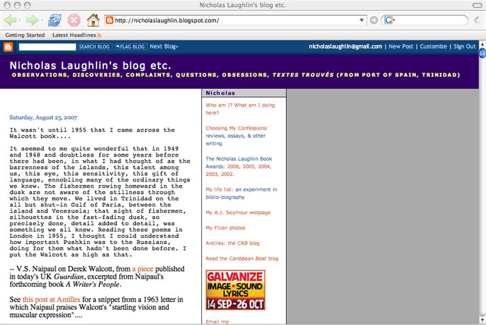 what my blog used to look like