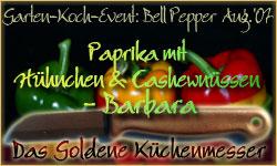 Gewinnerin des Garten-Koch-Events Bell Peppers - Paprika