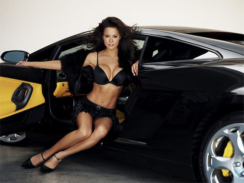 Pic of Sexy car babe Brooke Burke