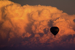 Hot Air Cloud Ride (ms4jah) Tags: sunset sky cloud hot nature weather del clouds mar san searchthebest air balloon flight diego ciel nuage nuages ballooning mto montgolfire mtorologie ms4jah flickrdiamond