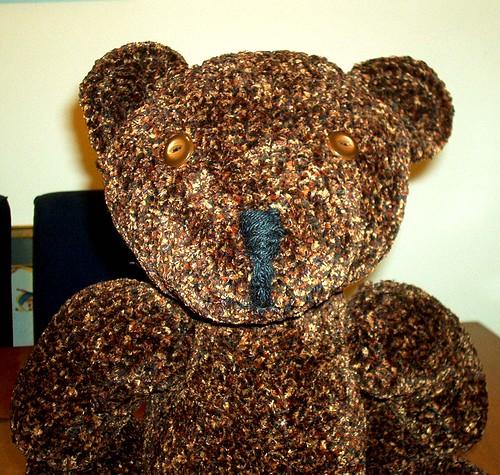 Teddy Bear Gets a Close Up