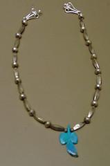 PhoenixTorquoise.jpg (merhawk) Tags: phoenix silver necklace beading torquoise