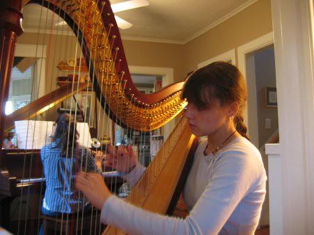 Harp Run through
