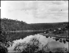 A river scene possibly near Scone