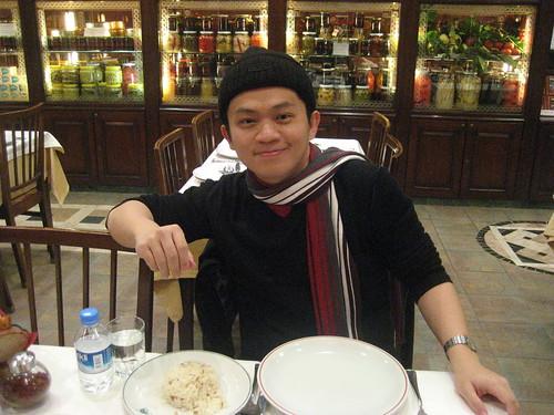 Dinner at Haci Abdullah
