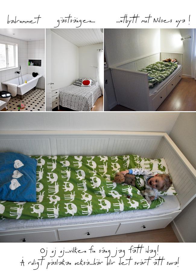 badrum & ny säng