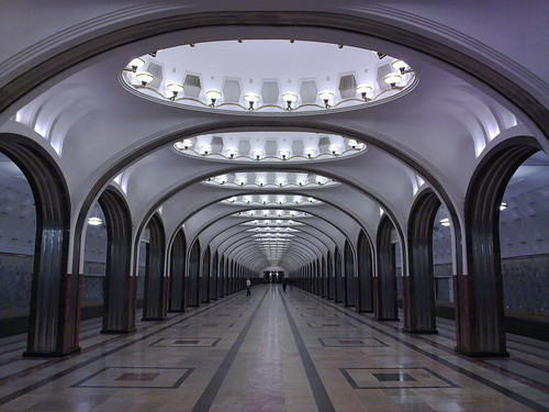 Just another Moscow Metro station...