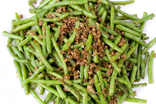 String Beans with Minced Pork 10