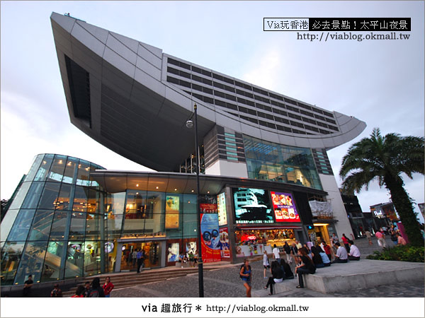 【香港自由行】必推!內有百萬夜景~香港太平山夜景17