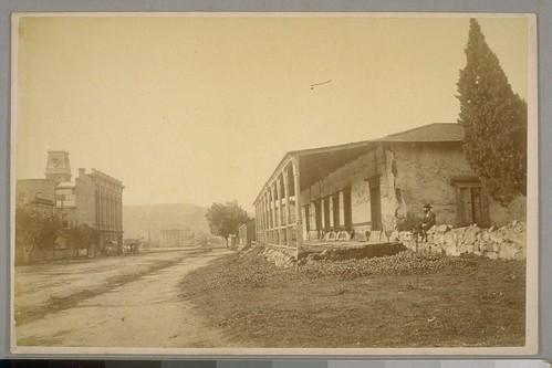 Downtown Santa Barbara 1884
