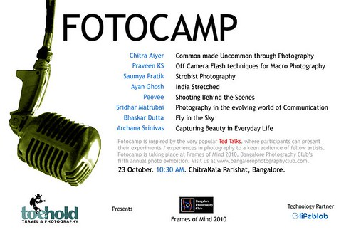 Talk at the Fotocamp, FoM 2010 - Chitra Aiyer Photography