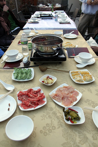 hot pot spread