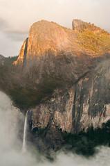 Bridal Veil Falls at Sunset