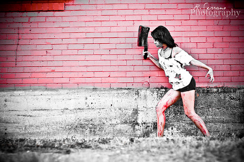 Jasmine Feliciano Zombie Model Photo Shoot ...004