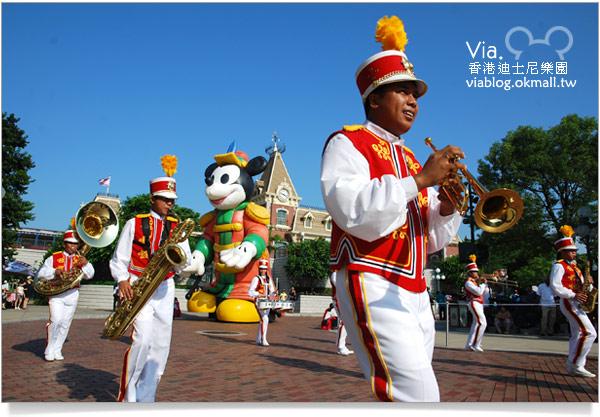 【香港迪士尼】跟著via玩香港(3)~迪士尼卡通人物歡樂巡遊8