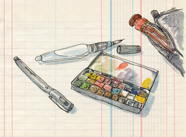 sketching gear