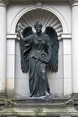 Farewell, adieu, and auf Wiedersehen (NRG Photos) Tags: friedhof cemetery grave angel germany deutschland memorial farewell engel grab darmstadt denkmal alterfriedhof adieu mydyingbride aufwiedersehen oldcemetery formyfallenangel