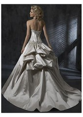 Satin wedding dress 2 (Sabrina Satin1) Tags: feminine bridal satin crossdresser effeminate ballgown bridalfantasy crossdressingfantasy