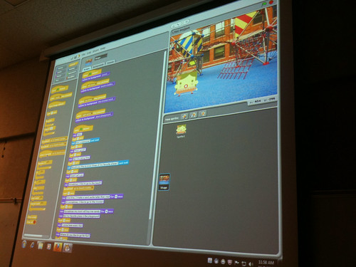 Learning from a student Scratch Project